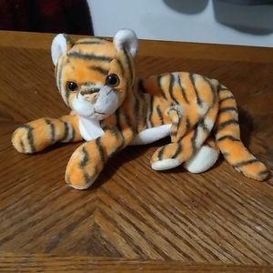 Tiger beanie baby